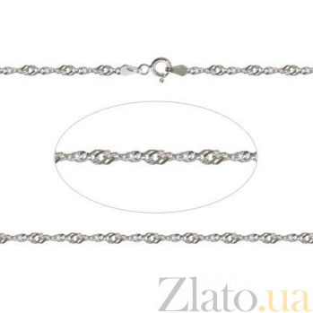 Серебряная цепочка  AQA--801Р-5