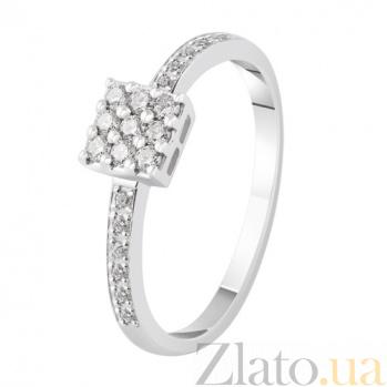 Кольцо из белого золота с бриллиантами Николет KBL--К1913/бел/брил
