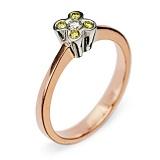 Золотое кольцо с бриллиантами Dreaminess