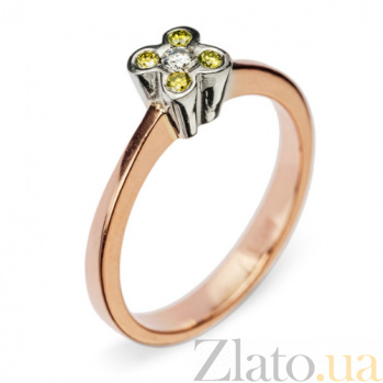 Золотое кольцо с бриллиантами Dreaminess R 0387