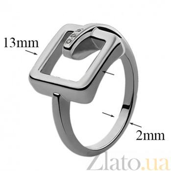 Серебряное кольцо с бриллиантами Изель 79101099
