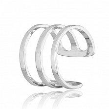Серебряное кольцо на фалангу Искусство стиля