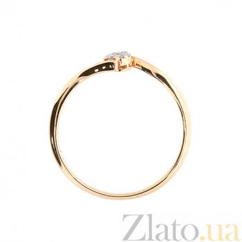 Кольцо из красного золота с бриллиантами Резарта 000021447