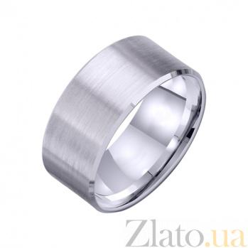 Золотое обручальное кольцо I love you TRF--421261