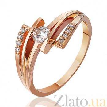 Золотое кольцо Нежная ночь с бриллиантами EDM--КД7513