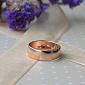 Серебряное обручальное кольцо с позолотой Союз двух 000013355