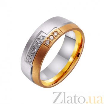 Золотое обручальное кольцо Нежность нашей страсти TRF--442492