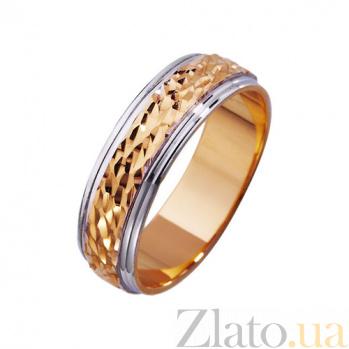 Золотое обручальное кольцо Искры любви TRF--411493