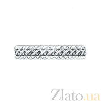 Золотое обручальное кольцо Центр вечных сил 000029717