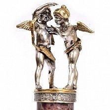 Серебряная статуэтка Купидончики