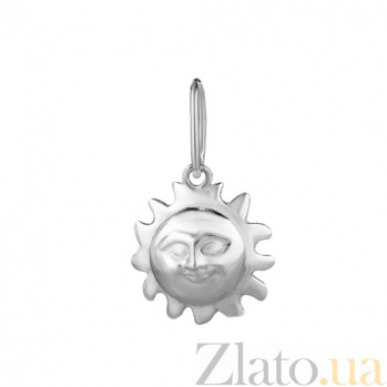 Серебряная подвеска Мое солнце LEL--62020