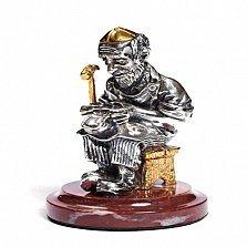 Серебряная статуэтка Сапожник