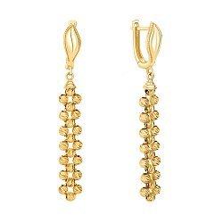 Серьги-подвески из желтого золота 000146170