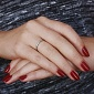 Кольцо из красного золота Признание с бриллиантами SVA--1100821201/Бриллиант