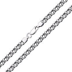 Серебряная черненая цепь, 5,5мм 000064501