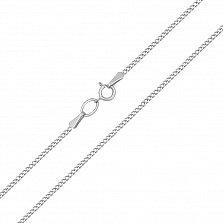 Серебряная цепочка Риола в классическом панцирном плетении, 2мм