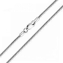 Ланцюжок з білого золота 000117327, 1,5 мм