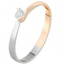 Золотое кольцо с бриллиантом Эстрелла