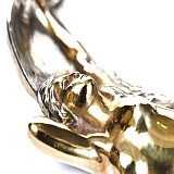 Серебряная пепельница с позолотой Прекрасная нимфа.