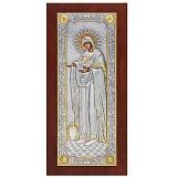 Икона Божией Матери «Геронтисса» с инкрустацией