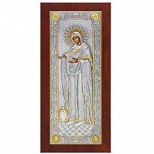 Икона Божией Матери «Геронтисса» с инкрустацией, 22х10см