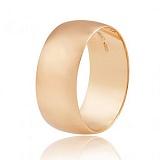 Золотое обручальное кольцо широкое Classic