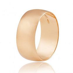 Обручальное кольцо из красного золота 000001621