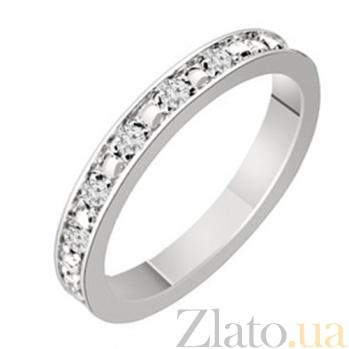 Золотое обручальное кольцо с бриллиантами Сабина KBL--К1601/бел/брил
