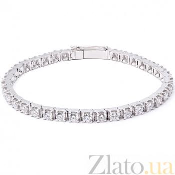 Золотой браслет Изиль с бриллиантами 000047288