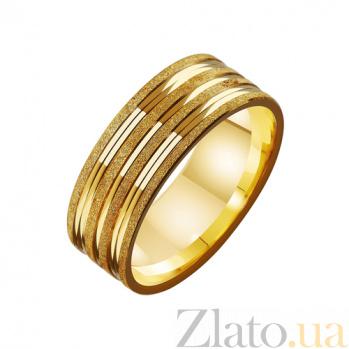 Золотое обручальное кольцо Супружеская верность TRF--4111624