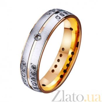 Золотое обручальное кольцо Голос любви TRF--412217*