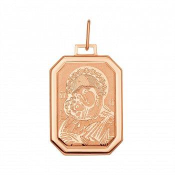 Ладанка из красного золота 000129450