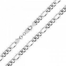 Серебряная цепь с родированием, 3,5 мм 000027661