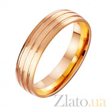 Золотое обручальное кольцо Исполнение желания TRF--4111308