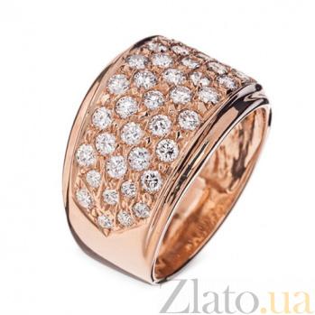 Золотое кольцо с бриллиантами Пенелопа R 0698