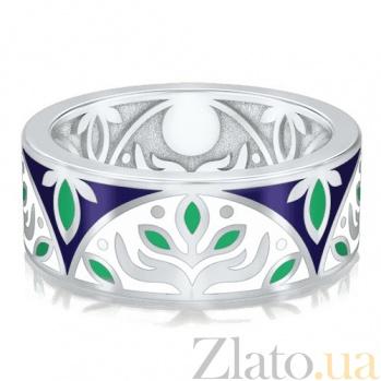 Обручальное кольцо из белого золота Талисман: Веры 2913