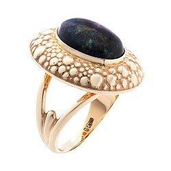 Золотое кольцо с опалом 000052114