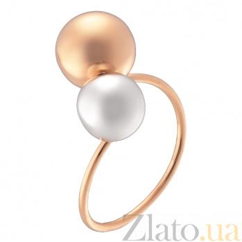 Кольцо из комбинированного золота Джодин 000023936