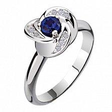 Золотое кольцо с сапфиром Охота