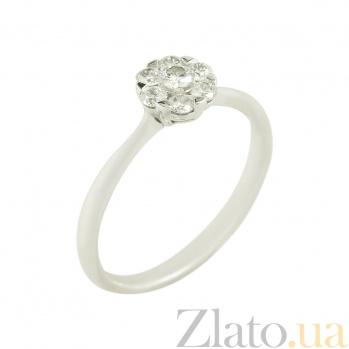Золотое кольцо с бриллиантами Валентина 1К193-0227