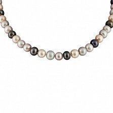 Жемчужное ожерелье Шантье с серебряным замком