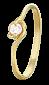 Серебряное кольцо с фианитом Агнешка 000025639