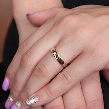 Обручальное кольцо с бриллиантом Очарование