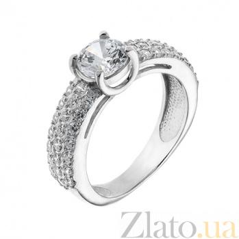 Серебряное кольцо с фианитами Вайнона AUR--81505б