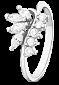 Кольцо из серебра с цирконием Папоротник 000025833