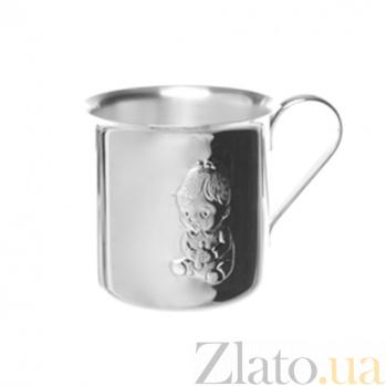 Серебряная чашка Девочка ZMX--1721_5453