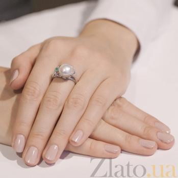 Серебряное кольцо Эврика 1789/9р изум