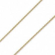 Золотая цепочка из желтого золота Меренге