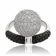 Серебряное кольцо Аврора
