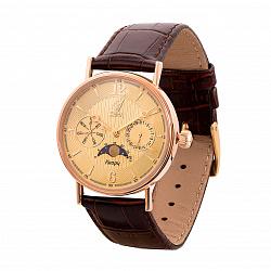 Кварцевые часы из красного золота 000136609
